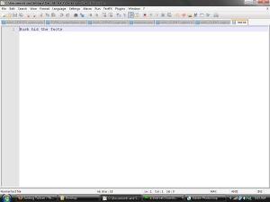 Jika dibuka dengan Notepad++