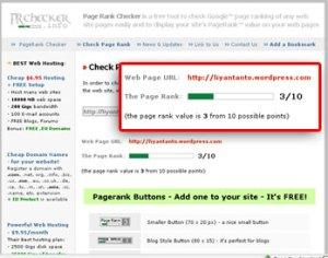 Page Rank Blogku